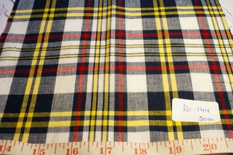 Madras plaid
