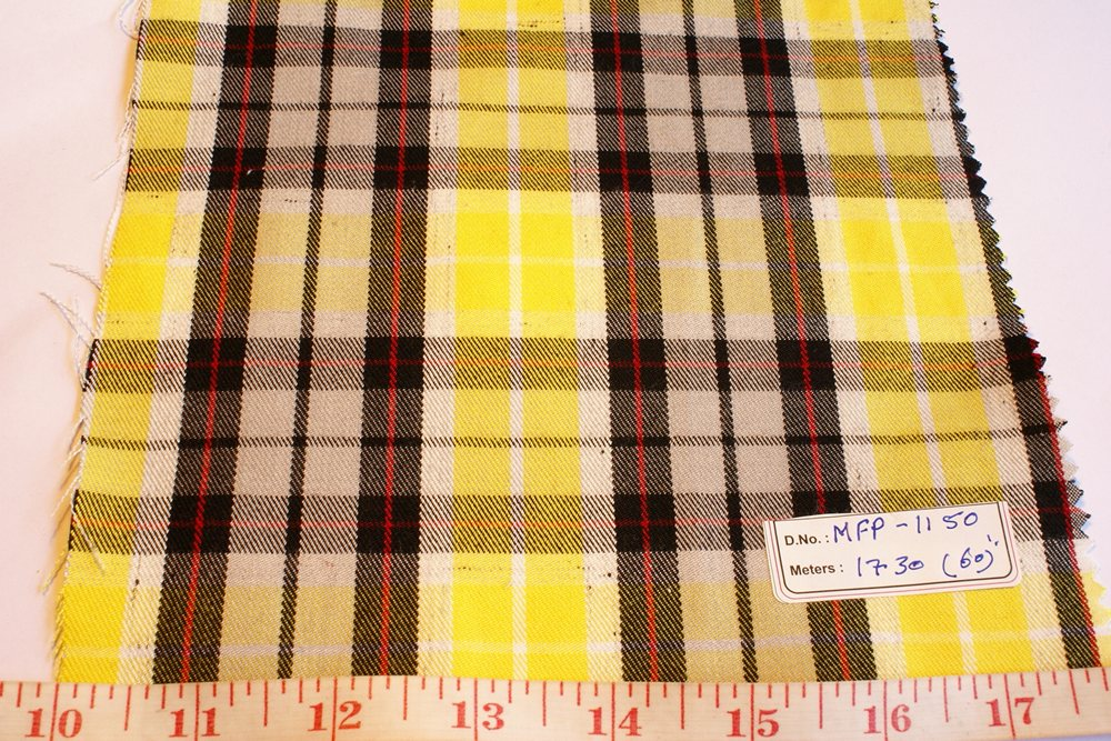 Madras Fabric Plaid Madras Patchwork Madras Fabric